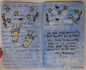 Sketchbook Project pg1
